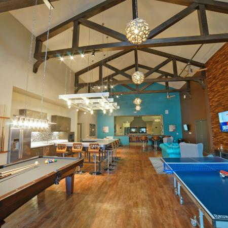 Resident Game Room | Apartments in Durham, NH | The Lodges at West Edge