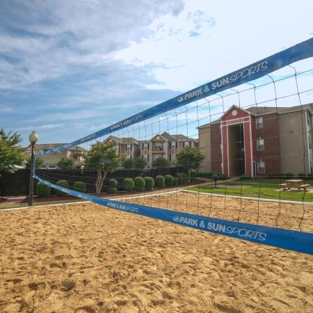 Sand Volleyball Court | Chicago IL Apartments For Rent | Student Quarters Murfreesboro - Rutherford