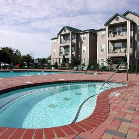 Relaxing Pool | Apartment Homes in Chicago, IL | Student Quarters Murfreesboro - Rutherford