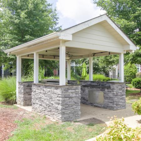 Community BBQ Grills | Murfreesboro TN Apartment For Rent | The Pointe at Raiders Campus