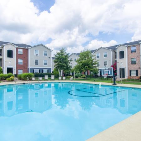 Resort Style Pool | Apartments in Murfreesboro, TN | The Pointe at Raiders Campus