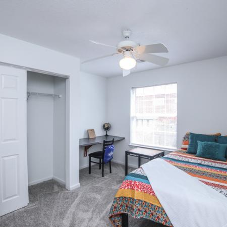 Spacious Bedroom | Murfreesboro TN Apartment Homes | The Pointe at Raiders Campus