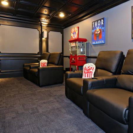 Resident Theatre Room | Apartment in Louisville, KY | The Clubhouse