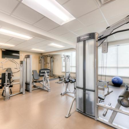 Resident Fitness Center | Apartments Louisville, KY | The Clubhouse