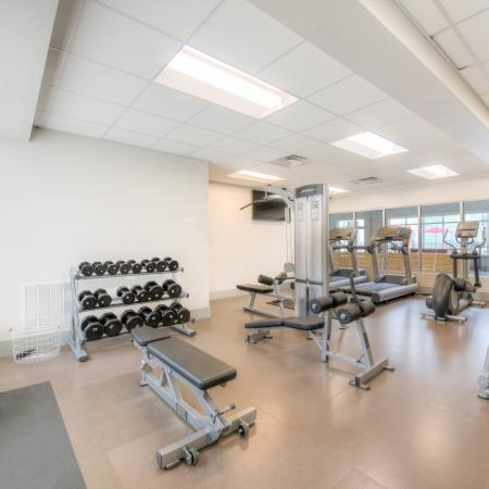 Community Fitness Center | Apartment in Louisville, KY | The Clubhouse