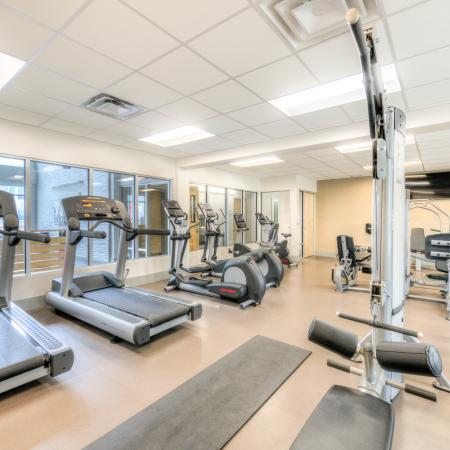 On-site Fitness Center | Louisville KY Apartments For Rent | The Clubhouse