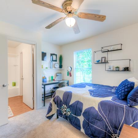 Private Bedroom | Mt Pleasant Apartment Homes | University Meadows