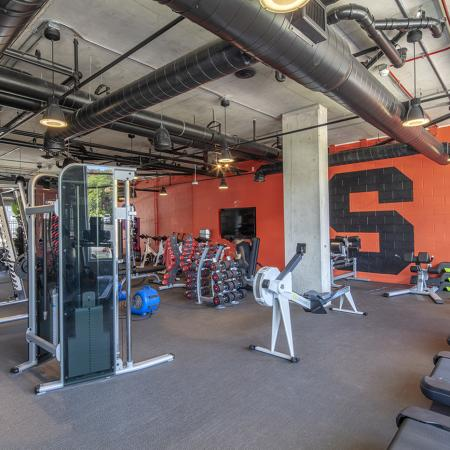 State-of-the-Art Fitness Center | Apartment Homes in Syracuse, NY | Theory Syracuse