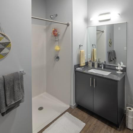 Spacious Bathroom | Syracuse NY Apartment For Rent | Theory Syracuse