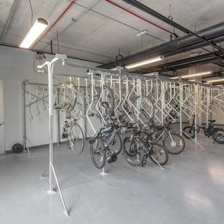 Bike Storage Area | Syracuse NY Apartment For Rent | Theory Syracuse
