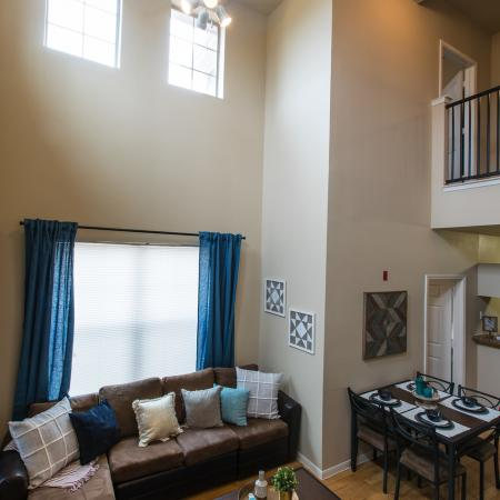 Spacious Living Room | Apartments in College Station, TX | Parkway Place