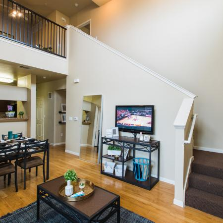 Luxurious Living Room | Apartment Homes in College Station, TX | Parkway Place