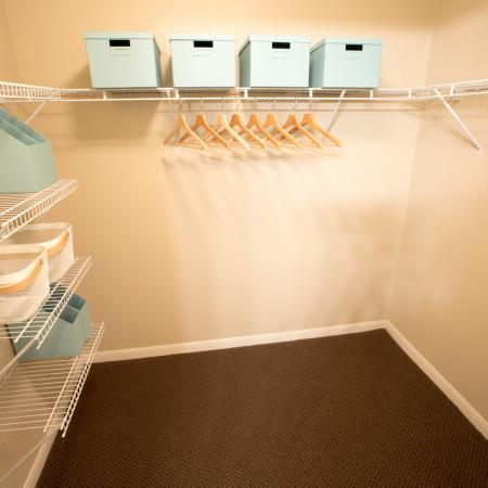 Spacious Closet | Apartments in College Station, TX | Parkway Place