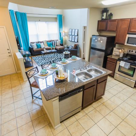 State-of-the-Art Kitchen | College Station TX Apartment Homes | Parkway Place