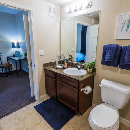 Elegant Bathroom | Apartments in College Station, TX | Parkway Place