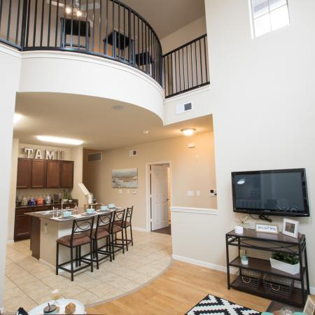 Elegant Living Area | Apartments College Station, TX | Parkway Place