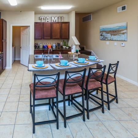 Modern Kitchen | College Station TX Apartment For Rent | Parkway Place