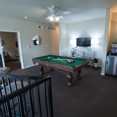 Resident Game Room | Apartments in College Station, TX | Parkway Place