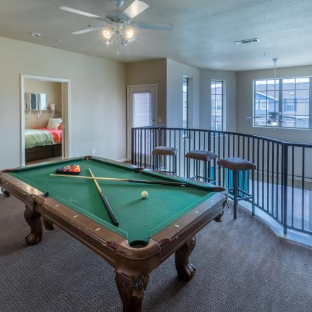 Community Game Room | Apartments for rent in College Station, TX | Parkway Place