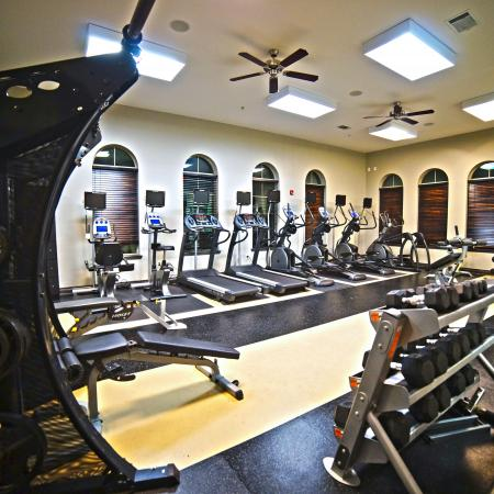 State-of-the-Art Fitness Center | Apartment Homes in College Station, TX | Parkway Place