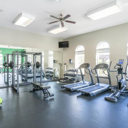 Cutting Edge Fitness Center | Apartments Homes for rent in College Station, TX | Parkway Place