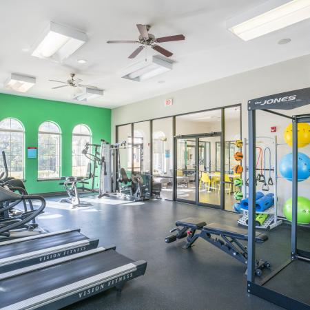 Resident Fitness Center | Apartments College Station, TX | Parkway Place