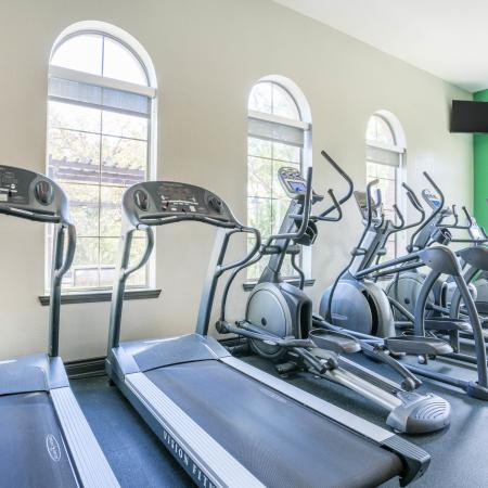 On-site Fitness Center | College Station TX Apartments For Rent | Parkway Place