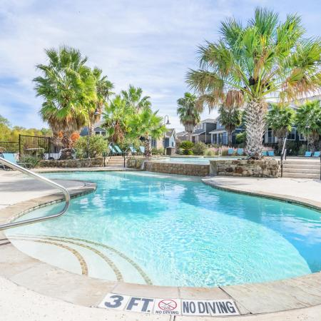 Swimming Pool | Apartment Homes in College Station, TX | Parkway Place