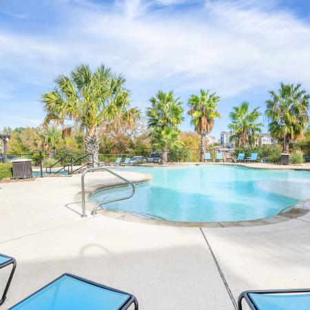 Resort Style Pool | Apartments in College Station, TX | Parkway Place
