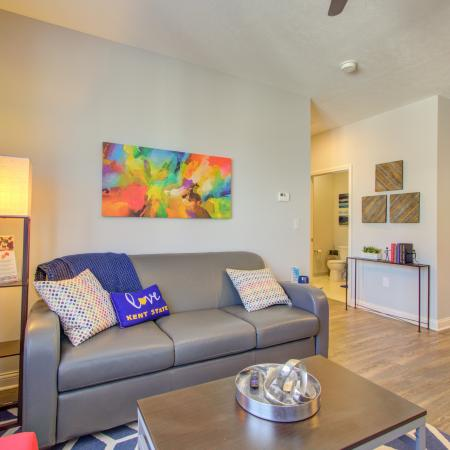 Luxurious Living Room | Apartment Homes in Kent, OH | 345 Flats