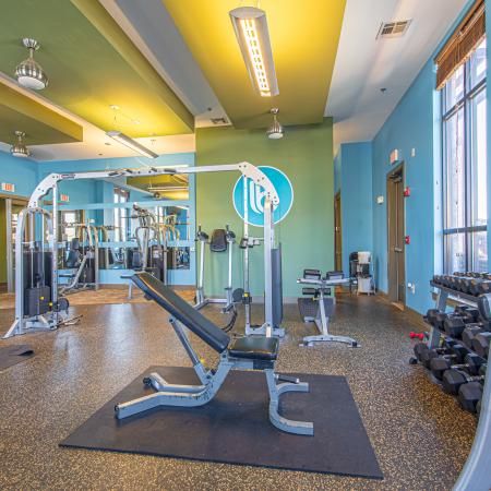 Cutting Edge Fitness Center | Apartments Homes for rent in Milledgeville, GA | Bellamy Milledgeville