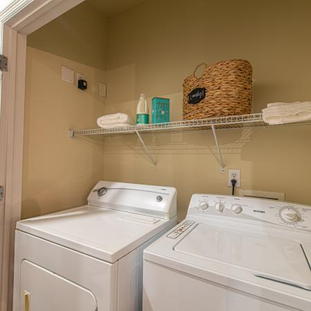 In-home Laundry  | Apartments Homes for rent in Milledgeville, GA | Bellamy Milledgeville