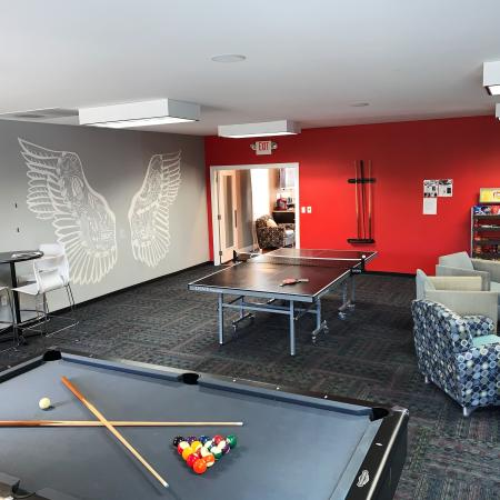 Community Ping Pong Table | Apartments in Edwardsville, IL | Enclave