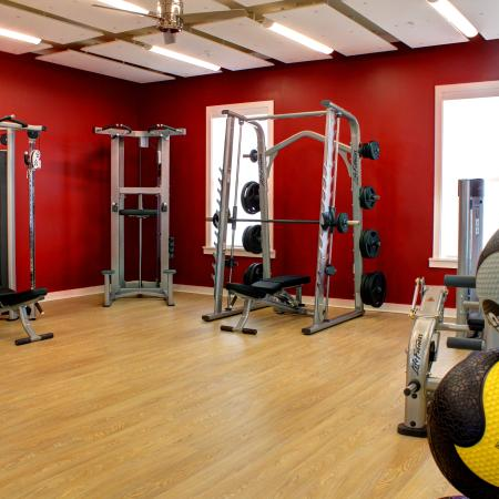 Resident Fitness Center at Haven 12 | Apartment Homes in Starkville, MS
