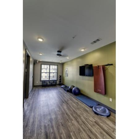 Resident Fitness Center | Apartments Tuscaloosa, AL | Riverfront Village