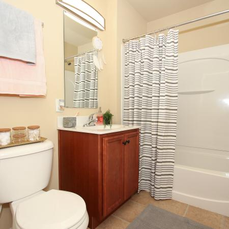 Spacious Bathroom