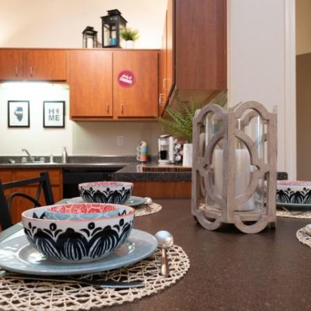 Elegant Dining Room | Normal IL Apartments For Rent | The Edge on Hovey