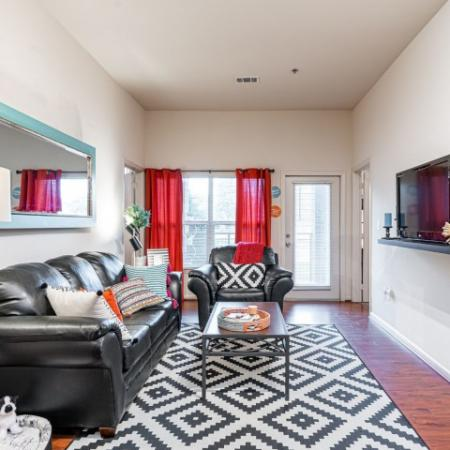 Luxurious Living Room | Apartment Homes in Normal, IL | The Edge on Hovey