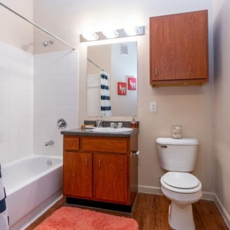 Prime Bathroom Space | Apartment in Normal, IL | The Edge on Hovey
