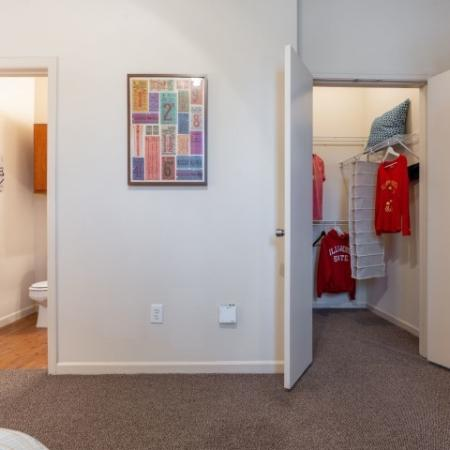 Spacious Walk in Closet | Apartment in Normal, IL | The Edge on Hovey