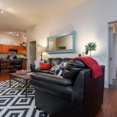 Spacious Living Area | Apartments Homes for rent in Normal, IL | The Edge on Hovey