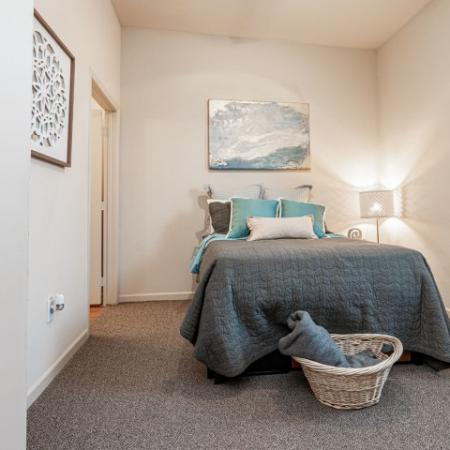 Luxurious Bedroom | Apartments in Normal, IL | The Edge on Hovey
