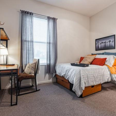 Vast Bedroom | Apartments for rent in Normal, IL | The Edge on Hovey