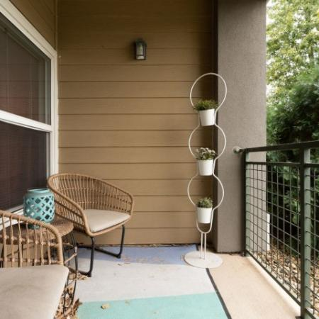 Resident Sun Deck | Normal IL Apartment For Rent | The Edge on Hovey