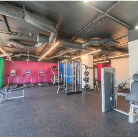 Resident Fitness Center | Apartments Normal, IL | The Edge on Hovey