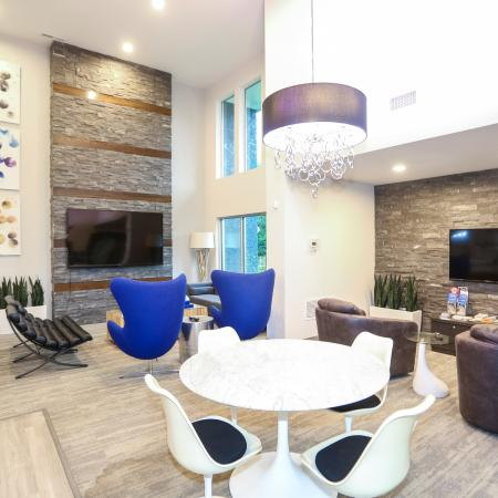 Resident Game Room | Apartments in Lawrence, KS | The Rockland