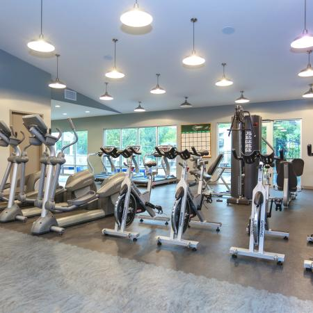 Cutting Edge Fitness Center | Apartments Homes for rent in Lawrence, KS | The Rockland