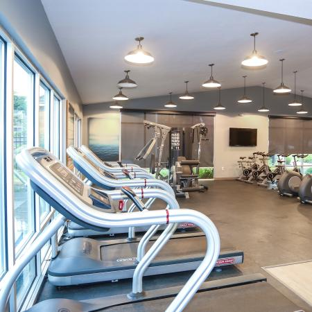 On-site Fitness Center | Lawrence KS Apartments For Rent | The Rockland