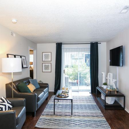 Elegant Living Room | Apartments for rent in Lawrence, KS | The Rockland