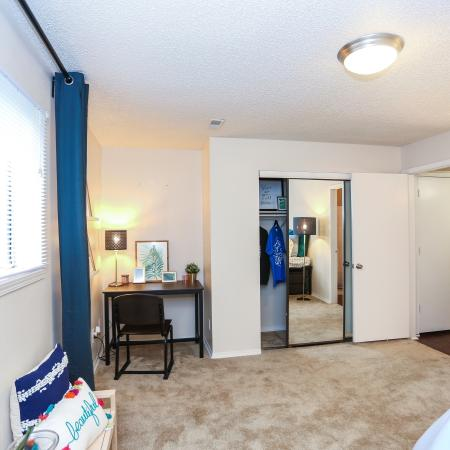 Spacious Bedroom | Lawrence KS Apartment Homes | The Rockland